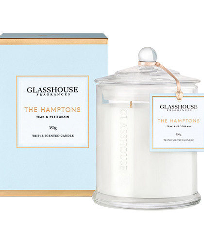 Glasshouse The Hamptons Candle 350g